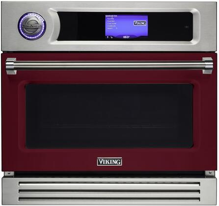 LVSOT730BU 30″ TurboChef Burgundy Wall Oven with  2.5 cu. ft. Capacity  Airspeed Technology  7 Speed Cook Modes  208