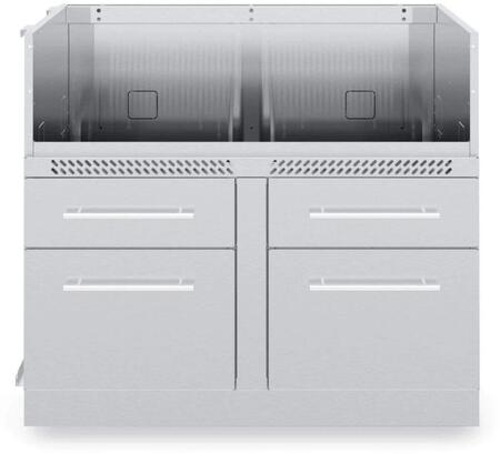 806600 5-Burner Cabinet in Stainless