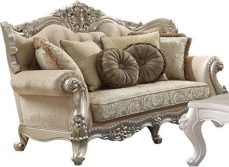Acme Furniture Bently 50661 Loveseat Beige, 1