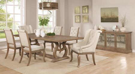 Coaster 110291cbset Appliances Connection, Dining Room Set For 8