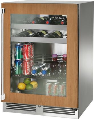 Perlick Signature HP24BS44R Beverage Center Panel Ready, Main Image