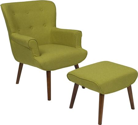 Flash Furniture Bayton QYB39COGRNGG Accent Chair Green, QY B39 CO GRN GG