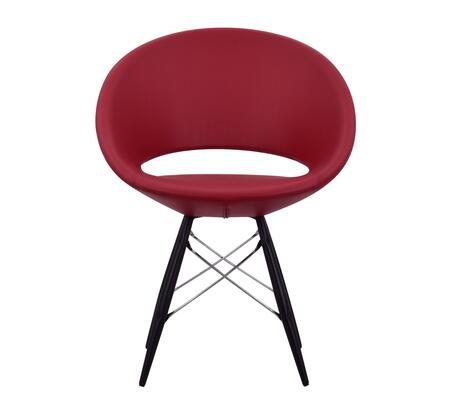 Delancey 100-MCD-MW-REL Tower Chair in Red Eco