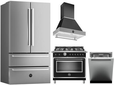 Bertazzoni 1128199 Kitchen Appliance Package & Bundle Stainless Steel, Main Image