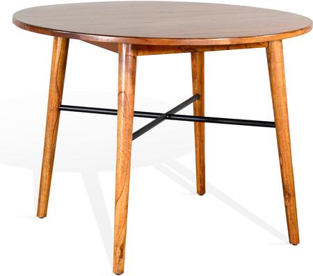 1099CN American Modern Round Counter Height Table  in