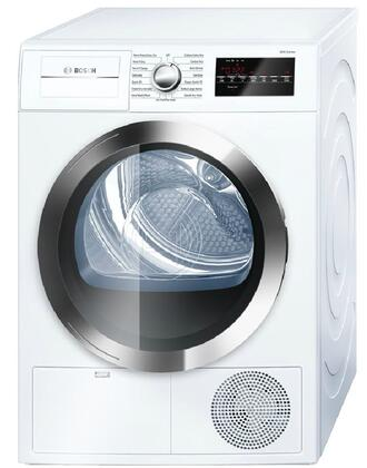 Bosch 800 Series WTG86402UC Electric Dryer White, Main Imag