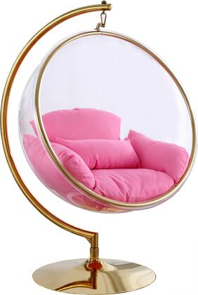 Meridian Luna 508PINK Accent Chair Pink, 508Pink 1