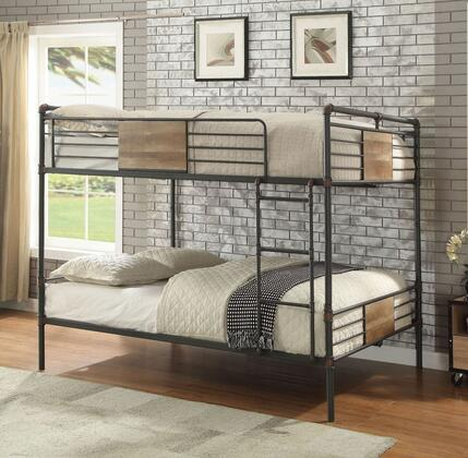 Acme Furniture Brantley 37720 Bed Black, Lifestyle View