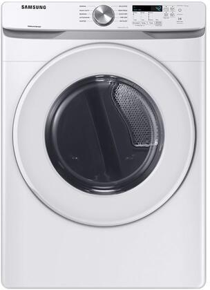 Samsung  DVE45T6020W Electric Dryer White, DVE45T6020W Long Vent Electric Dryer