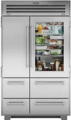 Sub-Zero Pro Series PRO4850G Side-By-Side Refrigerator Stainless Steel, Main Image