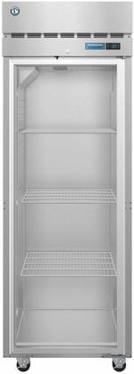 R1A-FG 28″ Steelheart Series One Section Full Glass Door Reach-In Refrigerator with 23.1 cu. ft. Capacity  3 Adjustable Shelves  4″ Casters and LED
