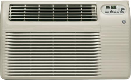 GE AJCQ12ACG Through the Wall Air Conditioner White, Front View