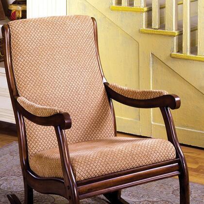 Furniture of America Liverpool CMAC6408 Rocking Chair , cm ac6408 1