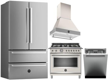 Bertazzoni 1128323 Kitchen Appliance Package & Bundle Stainless Steel, Main image