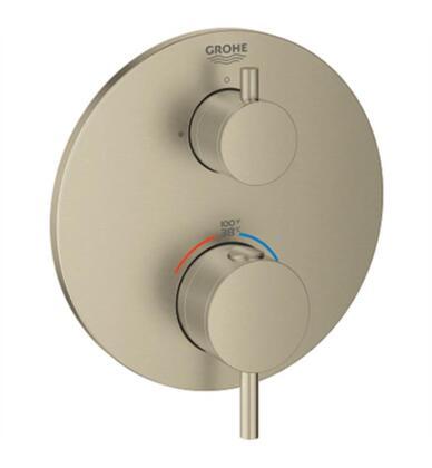 Atrio 24150EN3 Single Function 2-Handle Thermostatic Trim  in Brushed