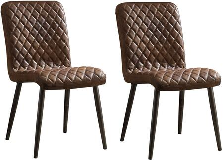 Acme Furniture Millerton 70423 Dining Room Chair Brown, 1