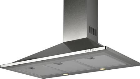 TR36LED 36″ Wall Mount Range Hood with 600 CFM  LED Lighting  Aluminum Mesh Filters and Push Button Controls in Stainless