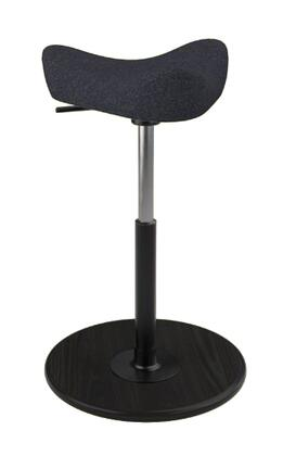 Varier Move Small MOVESMALL2700HALLINGDALE180BLKMEBLK Office Stool, Main Image