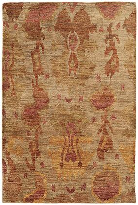 A50903152244ST Rectangle 5′ 0″ X  8′ 0″ Rug Pad with Abstract Pattern and Handcrafted