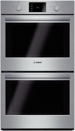Bosch 500 Series HBL5551UC Double Wall Oven Stainless Steel, Main Image