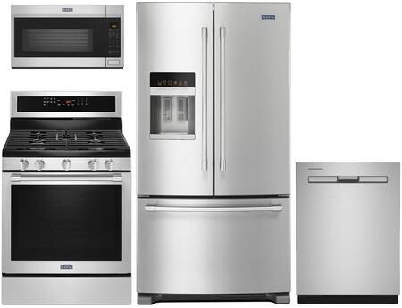 Maytag 730428 Kitchen Appliance Package & Bundle Stainless Steel, Main image