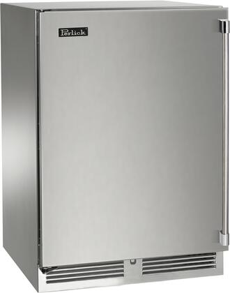 Perlick Signature HP24RS41LL Compact Refrigerator Stainless Steel, Main Image