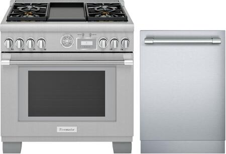 Thermador Pro Grand 1311244 Kitchen Appliance Package Stainless Steel, Main image