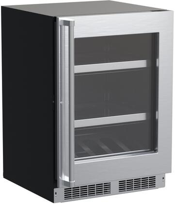 Marvel MPBV424-SG31A 24 Professional Series Beverage Center with 5.5 cu. ft. Capacity  Dynamic Cooling Technology  Reversible Door and Theater-Style