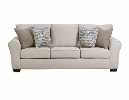 Lane Furniture Boston 165704QBOSTONLINEN Sofa Bed Beige, Queen Sleeper