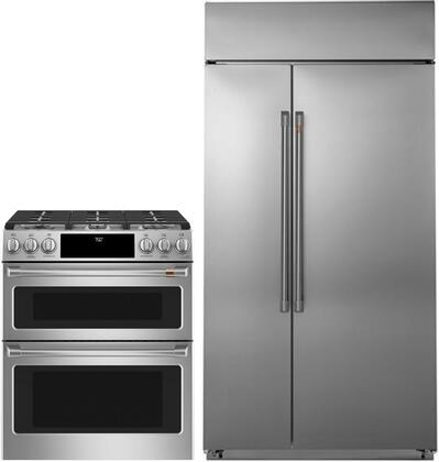 Cafe 1076213 Kitchen Appliance Package & Bundle Stainless Steel, main image