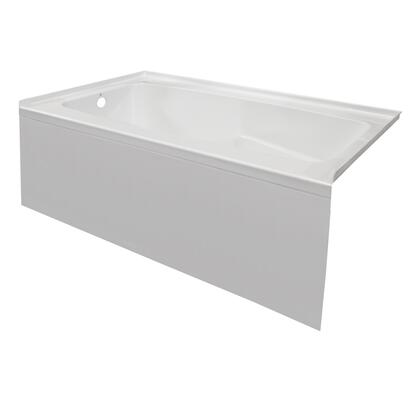 Valley Acrylic Signature Collection PSTARK6032SKRWHT Bath Tub White, Main Image