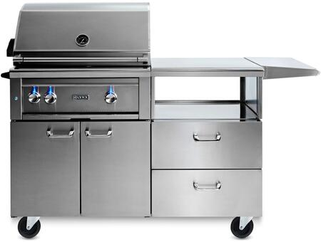 Lynx Professional L30R3MNG Natural Gas Grill Stainless Steel, Main Image