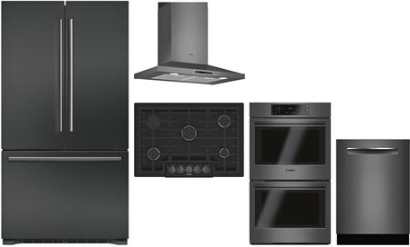 Bosch 980955 Kitchen Appliance Package & Bundle Black Stainless Steel, Main image