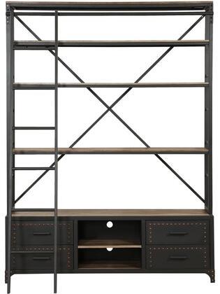 Acme Furniture Actaki 92433 Bookcase Brown, 1