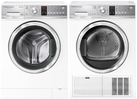 Fisher Paykel  1413318 Washer & Dryer Set White, 1