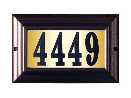 Qualarc Edgewood LTL1301ACPN Address Plaques, LTL 1301 AC PN
