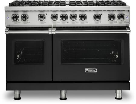Viking 5 Series VGR5488BCSLP Freestanding Gas Range Black, VGR5488BCSLP Gas Range