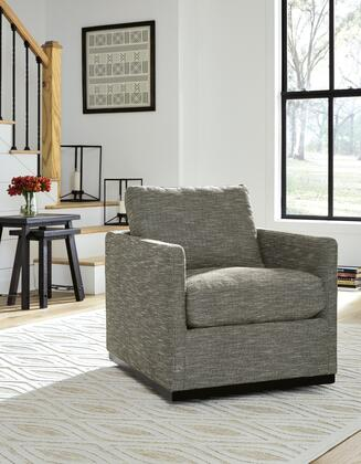 Signature Design by Ashley Grona A3000250 Accent Chair Gray, Main Image