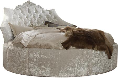 Acme Furniture Versailles 26807RD Bed White, 1