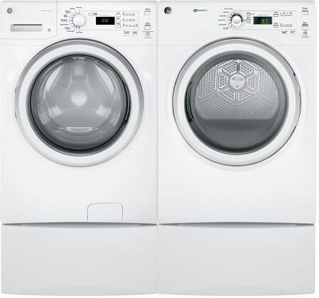 GE 1199976 Washer & Dryer Set White, 1