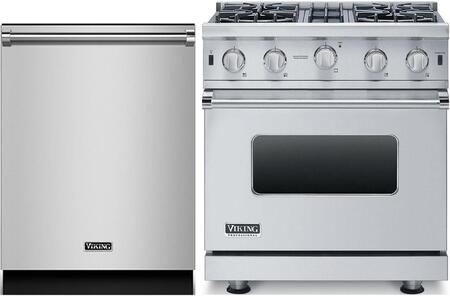 Viking 873827 Kitchen Appliance Package & Bundle Stainless Steel, main image
