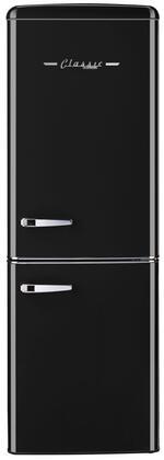 Unique  UGP215LBAC Bottom Freezer Refrigerator Black, UGP215LBAC Bottom Freezer Refrigerator