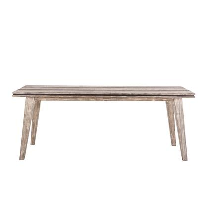 Beachwood Collection ZWDWDT78GRV Dining Table in Grey