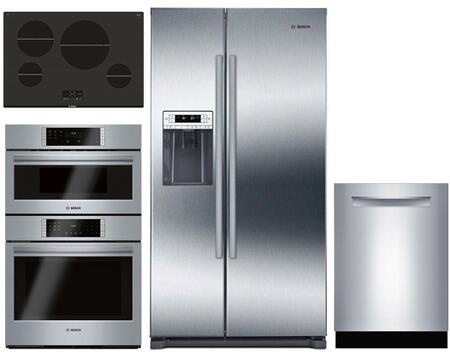 Bosch  1018857 Kitchen Appliance Package Stainless Steel, Main image