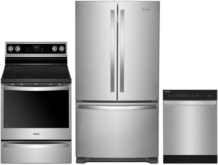 Whirlpool 1101581 Kitchen Appliance Package & Bundle Stainless Steel, main image