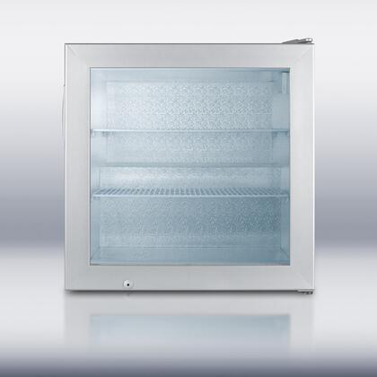Summit SCFU386 Compact Freezer Silver, 1