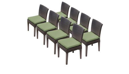 TK Classics BARBADOSTKC090BADC4XCCILANTRO Patio Chair, BARBADOS TKC090b ADC 4x C CILANTRO