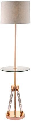 Acme Furniture Cici 40126 Floor Lamp Gold, 1