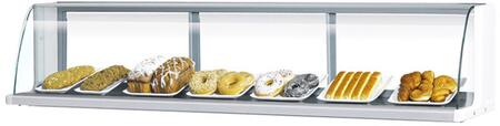 Turbo Air TOMD50LW Commercial Food Display and Merchandising Parts and Acc White, TOMD50LW Top Case