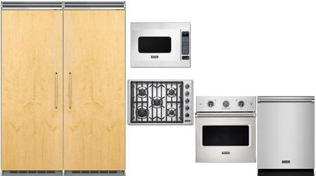 Viking 5 Series 977585 Kitchen Appliance Package Panel Ready, main image